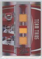 Larry Johnson, Tony Gonzalez, Eddie Kennison #/25