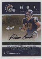 Adam Carriker #/333