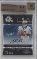 Matt Moore [BGS 9.5 GEM MINT]