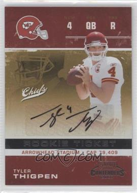 2007 Playoff Contenders - [Base] #236 - Tyler Thigpen