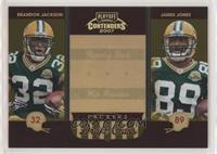 Brandon Jackson, James Jones #/250