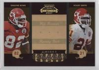 Dwayne Bowe, Kolby Smith /250