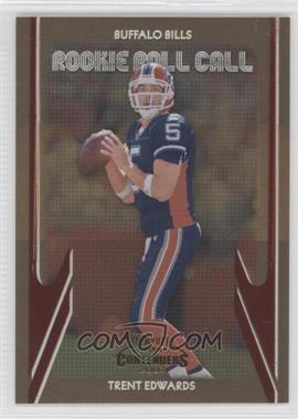2007 Playoff Contenders - Rookie Roll Call #RRC-25 - Trent Edwards /1000