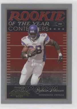 2007 Playoff Contenders - Rookie of the Year Contenders #ROY-2 - Adrian Peterson /1000