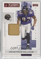 Demetrius Williams /20