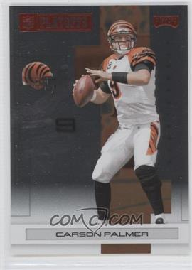 2007 Playoff NFL Playoffs - [Base] - Red Metalized #22 - Carson Palmer /399