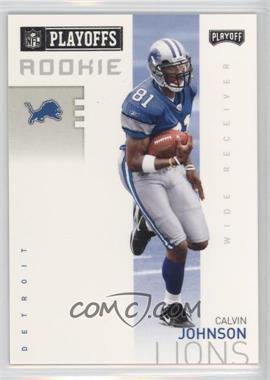 2007 Playoff NFL Playoffs Previews - [Base] #P-3 - Calvin Johnson