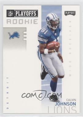 2007 Playoff NFL Playoffs Previews - [Base] #P-3 - Calvin Johnson