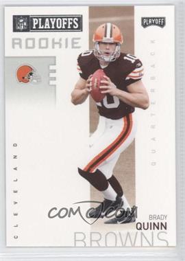 2007 Playoff NFL Playoffs Previews - [Base] #P-4 - Brady Quinn