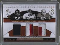 Mike Singletary, Lawrence Taylor, Ronnie Lott /25