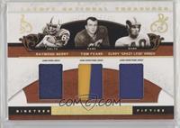 Raymond Berry, Tom Fears, Elroy Hirsch #/25