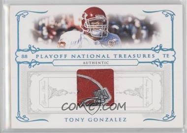 b7581af59 2007 Playoff National Treasures -  Base  - Prime Materials Brand Logos   Memorabilia   40 - Tony Gonzalez  10