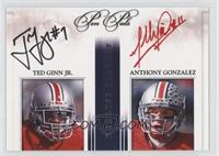 Ted Ginn Jr., Anthony Gonzalez #/30