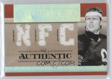 2007 Playoff National Treasures - Timeline - AFC/NFC Jersey #T-JM - Jim McMahon /25
