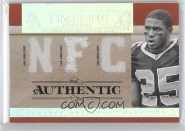 2007 Playoff National Treasures - Timeline - AFC/NFC Jersey #T-RB - Reggie Bush /25