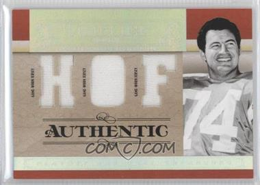 2007 Playoff National Treasures - Timeline - HOF Jersey #T-RM - Ron Mix /25