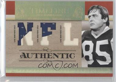 2007 Playoff National Treasures - Timeline - NFL Jersey Prime #T-JY - Jack Youngblood /10