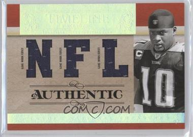 2007 Playoff National Treasures - Timeline - NFL Jersey #T-VY - Vince Young /99