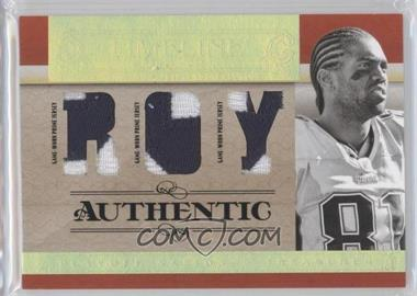 2007 Playoff National Treasures - Timeline - ROY Jersey Prime #T-RM - Randy Moss /25
