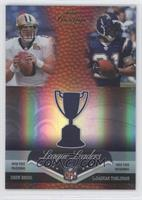 Drew Brees, LaDainian Tomlinson, Larry Johnson, Peyton Manning /25