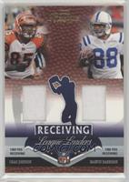 Chad Johnson, Marvin Harrison #/250