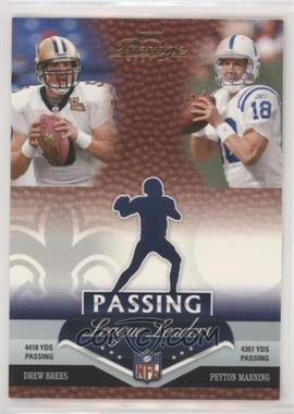 2007 Playoff Prestige - League Leaders #LL-1 - Drew Brees, Peyton Manning