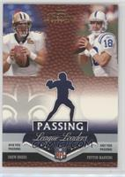 Drew Brees, Peyton Manning