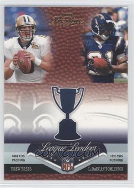 2007 Playoff Prestige - League Leaders #LL-21 - Drew Brees, LaDainian Tomlinson, Larry Johnson, Peyton Manning
