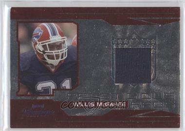 2007 Playoff Prestige - Prestigious Pros - Red Materials [Memorabilia] #PP-29 - Willis McGahee