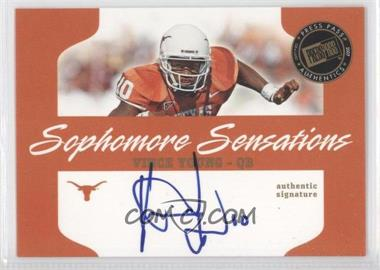 2007 Press Pass - Sophomore Sensations #SS-VY - Vince Young