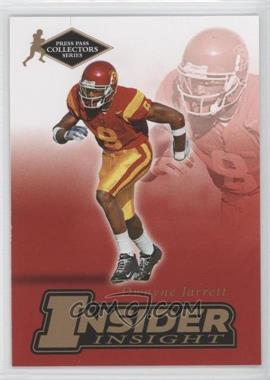 2007 Press Pass Collectors Series - [???] #II-11 - Dwayne Jarrett