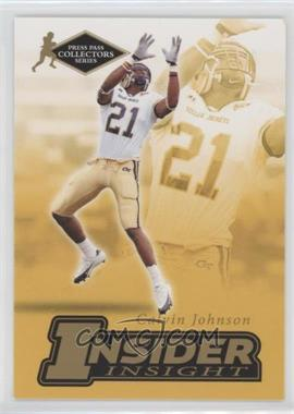 2007 Press Pass Collectors Series - [???] #II-12 - Calvin Johnson