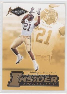 2007 Press Pass Collectors Series - [???] #II-12 - Calvin Johnson