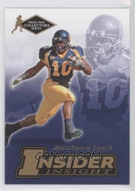 2007 Press Pass Collectors Series - [???] #II-15 - Marshawn Lynch