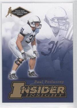 2007 Press Pass Collectors Series - [???] #II-18 - Paul Posluszny