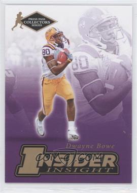 2007 Press Pass Collectors Series - [???] #II-2 - Dwayne Bowe