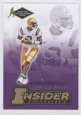 2007 Press Pass Collectors Series - [???] #II-21 - JaMarcus Russell