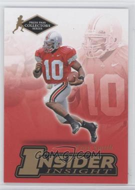 2007 Press Pass Collectors Series - [???] #II-23 - Troy Smith