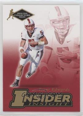 2007 Press Pass Collectors Series - [???] #II-5 - Trent Edwards