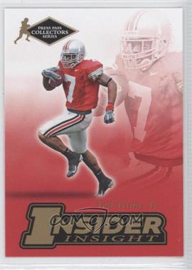 2007 Press Pass Collectors Series - [???] #II-6 - Ted Ginn