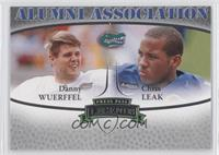 Danny Wuerffel, Chris Leak