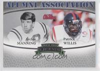 Patrick Willis, Archie Manning