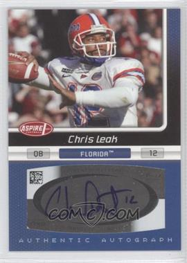 2007 SAGE Aspire - Autographs #10A - Chris Leak