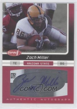 2007 SAGE Aspire - Autographs #26A - Zach Miller