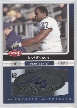2007 SAGE Aspire - Autographs #27A - Levi Brown