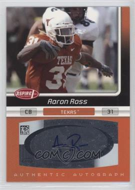 2007 SAGE Aspire - Autographs #33A - Aaron Ross