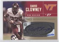 David Clowney /250