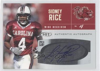 2007 SAGE Hit - Autographs #A4 - Sidney Rice