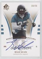 Rookie Authentics Signatures - Reggie Nelson /25