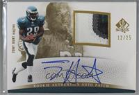 Rookie Authentics Auto Patch - Tony Hunt [Noted] #/25